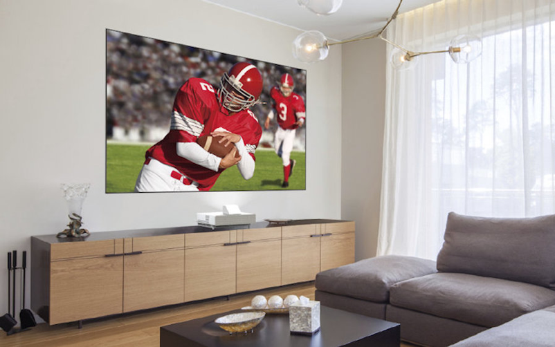 Limited Space in Your Media Room for Big Screens?